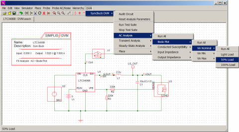DVM: Design Verification Module for SIMPLIS